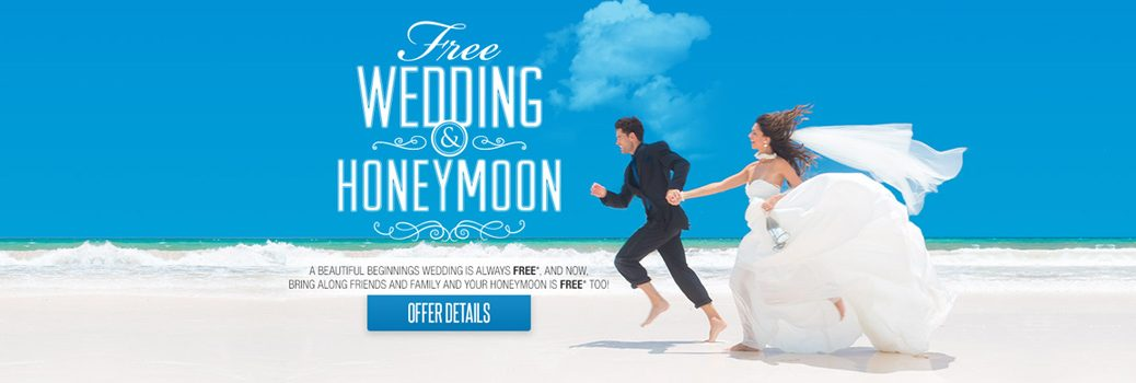 Free Weddings at Sandals Resorts and Beaches Resorts