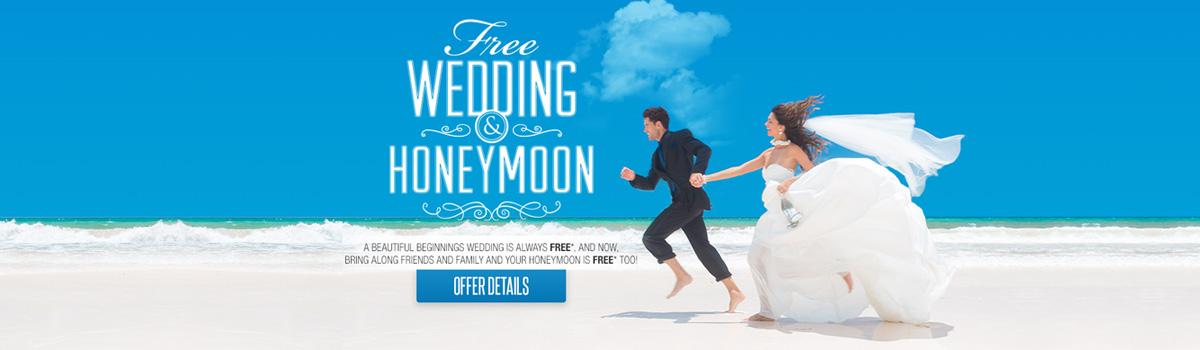Free Weddings at Sandals Resorts and Beaches Resorts